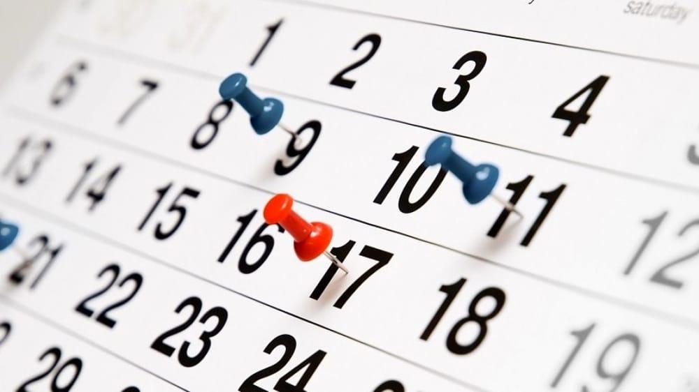 Calendario – ISTITUTO SUPERIORE CARLO DELL' ACQUA
