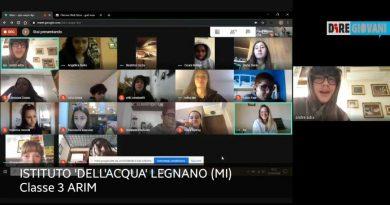 In un video le opinioni della classe terza istituto 'Dell'Acqua'