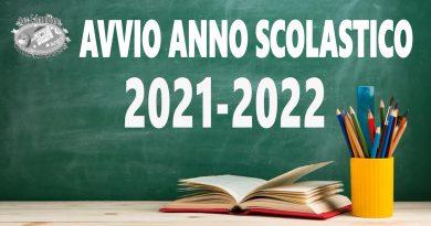 Avvio a.s. 2021-2022